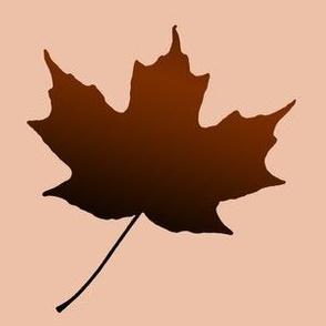Chocolate Maple Leaf, L