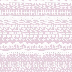 Tribal abstract light pink white