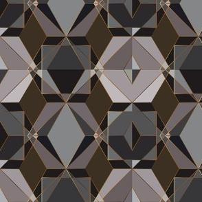 Polygon geometric [dark]