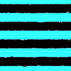 distress stripe flatitude black aqua