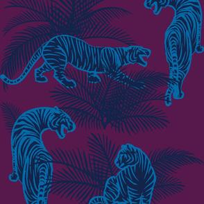 Jungle Tigers dark and moody