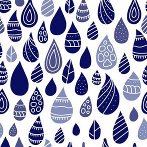 Patterned Raindrops