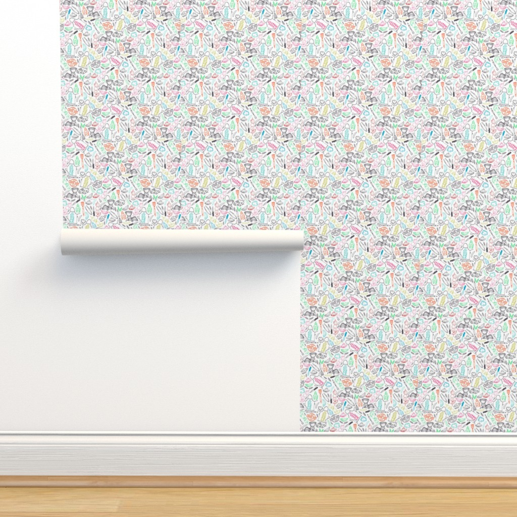 Isobar Durable Wallpaper featuring Summer Sizzle (three quarter inch) by gingerlique