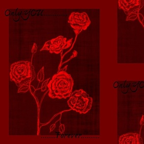 Only You Rose red