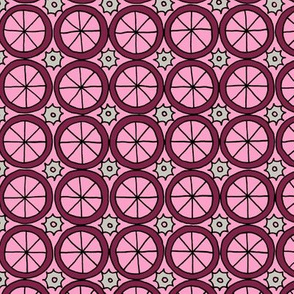 Spokes and Gears - Pink