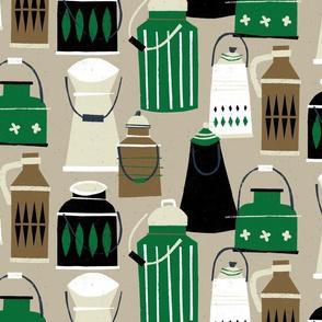 MCM Milk Pails M+M Latte by Friztin