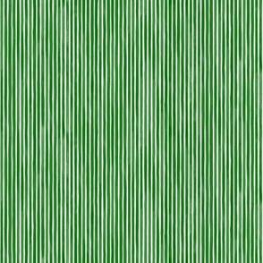 Vertical Watercolor Mini Stripes M+M Zucchini by Friztin