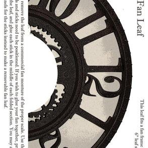 Steampunk Clock Fan