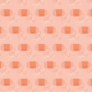 Craftiness! Orange Yarn