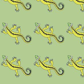 Yucatan Geckos, by Susanne Mason
