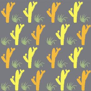 Yucatan Cactus pattern, by Susanne Mason