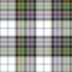 "Campbell of Cawdor dress tartan, 12"" faded"