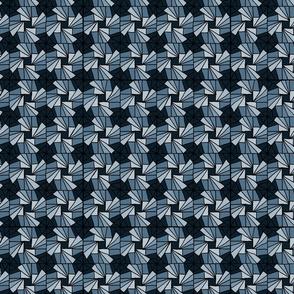 Whirlysquare - Blue Grey
