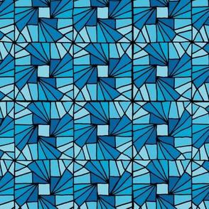Whirlysquare - Bright Blue