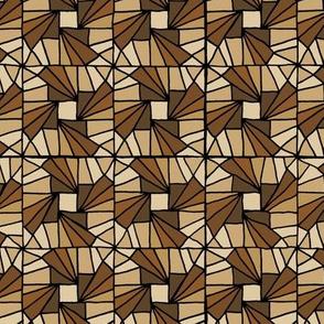 Whirlysquare - Brown