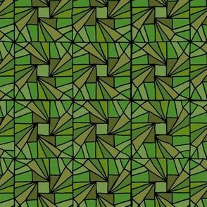 Whirlysquare - Green