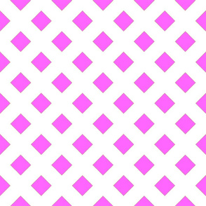45 Degrees Square Shape Pink