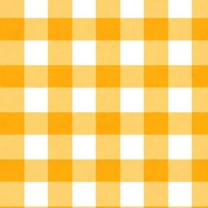 Orange Gingham - Juicy texture 2018