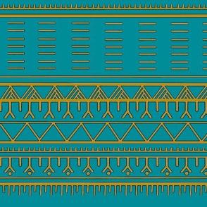 Inuit Tattoo Turquoise