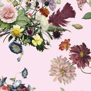 Sofa floral print - 4 yards