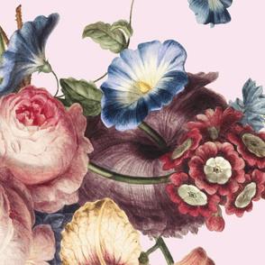Sofa floral print - 3 yards