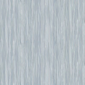 Vertical Watercolor Mini Stripes M+M Smoke by Friztin