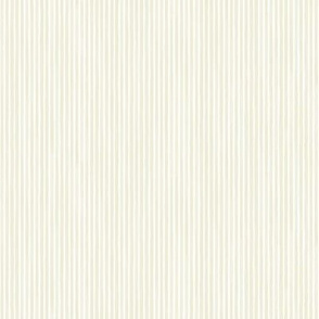 Vertical Watercolor Mini Stripes M+M Tan by Friztin