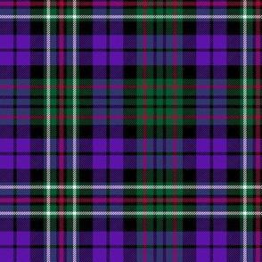 "MacRae hunting tartan #3, 6"" purple"