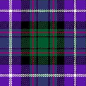 "MacRae hunting tartan #1, 6"" purple"