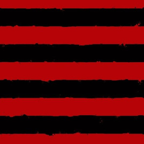 distress stripe flatitude black red