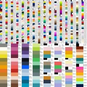 00745340 : large hue triangle palette