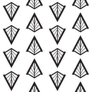 Deco Diamonds (Black and White)