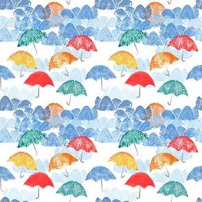 Umbrella Spring - by Kara Peters