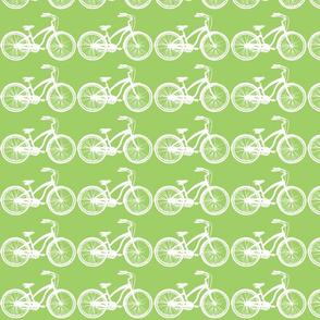 spring green bike
