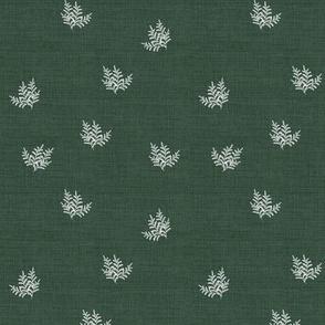 Feathery Fern, Pine Green