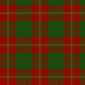 "MacRae / MacRea  red/green tartan, 3"""