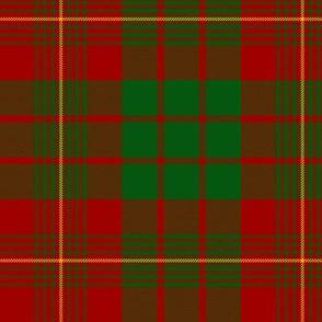 "MacRae / MacRea  red/green tartan, 6"""