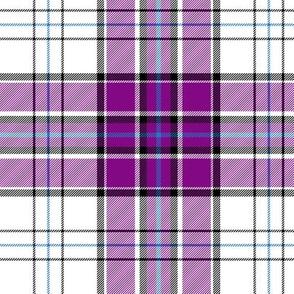 "MacRae dress dance tartan, 6"" purple"