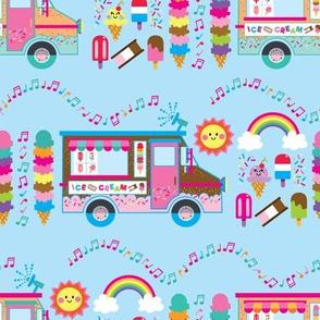 aloha ice cream truck with treats