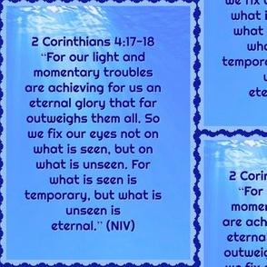 2 Corinthians 4:17-18
