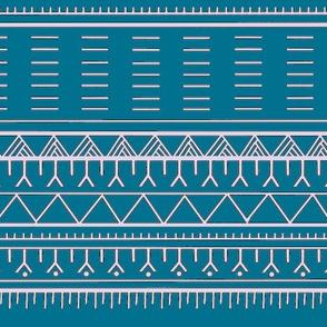 Inuit Tattoo Blue-ch