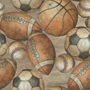 Be the Ball Sports - Baseball, Football, Soccer and Basketball