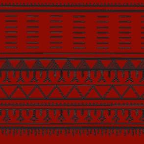 Inuit Tattoo red/black