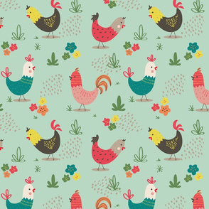 chicken on the run