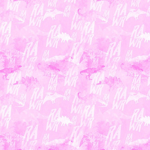 Dino RAWR Pink