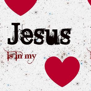 Jesus is in my Heart