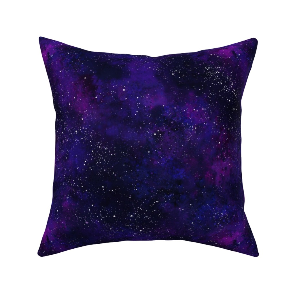 Catalan Throw Pillow featuring Nebulicious by dwuff