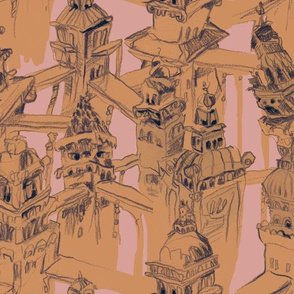 buildings are people too - terracotta