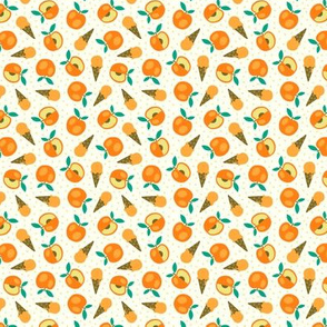 Peach summer ice cream party (mini)