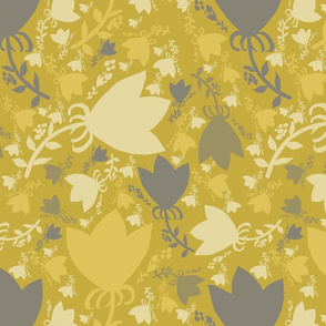 Morning Light, main flower pattern, by Susanne Mason